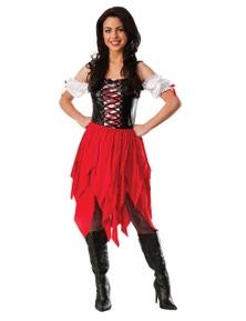 Rubies Pirate Female Costume