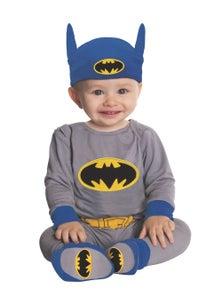Rubies Batman Onesie (Grey/Blue) Childrens Costume