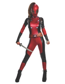 Rubies Deadpool Secret Wishes Costume