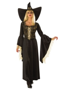 Rubies Golden Web Witch Costume