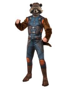 Rubies Rocket Raccoon Deluxe Avg4 Costume