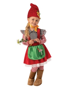 Rubies Garden Gnome Girl Childrens Costume