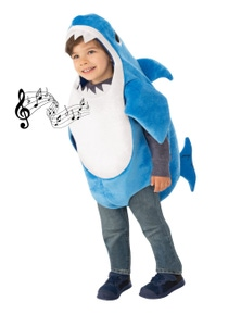 Rubies Baby Shark Deluxe Blue Childrens Costume (Daddy)
