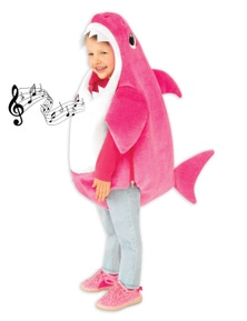 Rubies Baby Shark Deluxe Pink Childrens Costume (Mummy)