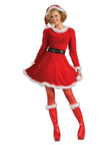 Rubies Mrs Claus Deluxe Costume
