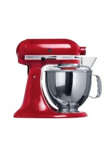 Kitchen Aid Stand Mixer Ksm150 Empire Red Mixer