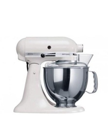 Kitchen Aid Stand Mixer Ksm150 White Mixer