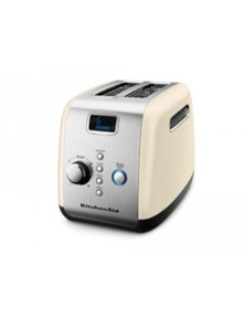 Kitchen Aid Toaster - Artisan 2 Slice Almomd Cream Kmt223