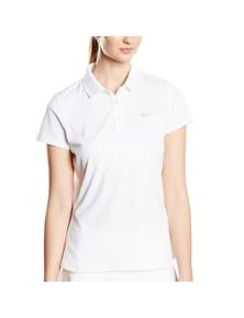 Nike Women's Advantage Court Polo Top Tee Tennis Sport Collar - White