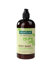 PALMOLIVE 500mL BODY WASH OIL INFUSIONS JASMINE WITH AVOCADO OIL