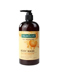 PALMOLIVE 500mL BODY WASH OIL INFUSIONS CITRUS WITH JOJOBA OIL