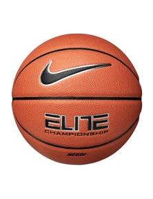 Nike Elite Championship 8P 07 Basketball - Amber/Black/Metallic Silver