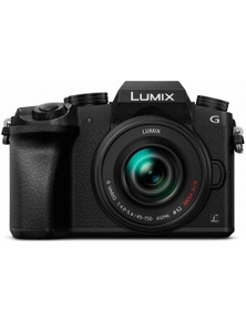 Panasonic 16MP Lumix G7 DSLR Camera Body with 14-42mm & 45-150mm Camera Lens
