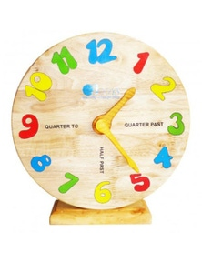 Qtoys Wooden Clock
