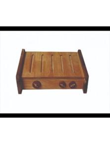 Qtoys Wooden Portable BBQ