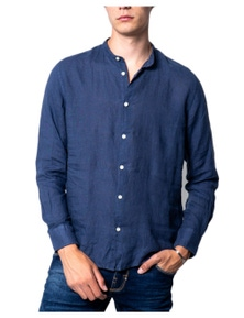 Brian Brome Men's Shirt In Blue