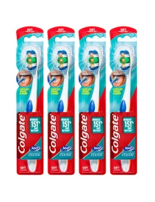 Colgate 360 Bluetoothbrush Soft Head -Assorted Colours 4x