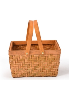 Deluxe Wicker Picnic Basket