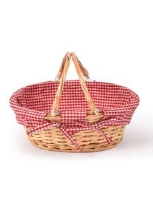 Deluxe Wicker Picnic Basket