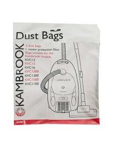 Kambrook 5PK Vacuum Bags for KVC12/15/16/1200/1300/1500/1100