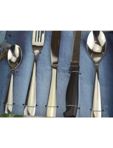 Wiltshire Bronte Baguette 50 Piece Stainless Steel Cutlery Set