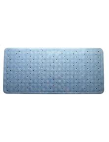 Rubber Bath Mat 34 X 74Cm - Blue