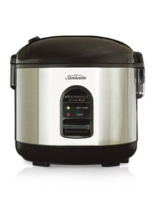 Sunbeam Rice Perfect Deluxe 7 Cup Rice Cooker and Steamer Stainless Steel