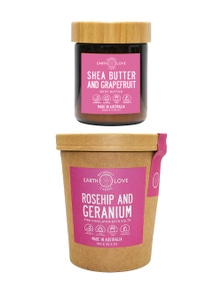 Earth Love Body Butter and Bath Salts Duo