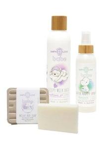 Earth Love Soap Milk Bath & After Nappy Spray Trio
