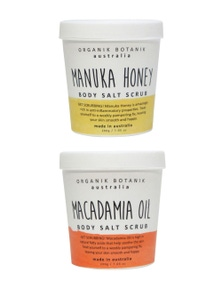 Organik Botanik Body Scrub and Body Scrub Duo