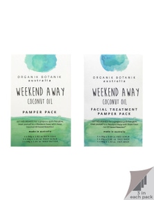 Organik Botanik Weekend Away - Body Pamper Packs