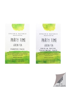 Organik Botanik Party Time - Body Pamper Packs