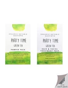 Organik Botanik Party Time - Body Pamper Packs