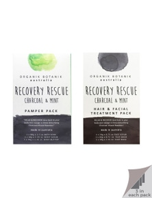 Organik Botanik Charcoal- Body Pamper Packs