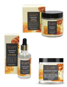 Honey Boxed Face Mask Pack Trio