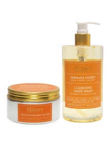 Honey Hand Wash and Body Butter Duo