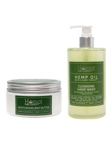Hempt Hand Wash and Body Butter Duo