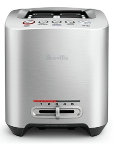 Breville the Smart Toast 2 Slice Brushed Stainless Steel