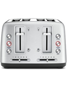 Breville The Toast Control 4 Slice Toaster Stainless Steel