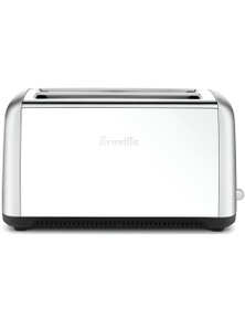 Breville The Toast Control Long 4 Slice Toaster Stainless Steel