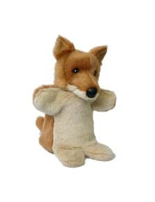 Korimco Dingo Hand Puppet (D) Kids 25Cm Soft Toy 3Y+