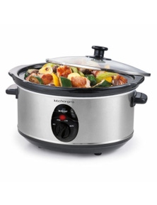 Maxim Kitchen Pro 3.5L Stainless Steel Slow Cooker