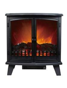 Heller 1800W Electric Fireplace Heater