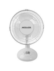 Heller 23Cm White Desk Fan