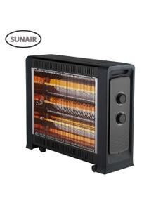 Sunair 2400W Portable Electric Heater Quartz Radiant Fan Heater