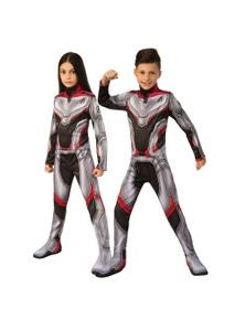 Rubies Avengers 4 Classic Unisex Team Suit Childrens Costume