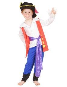 Rubies Captain Feathersword Premium Childrens Costume