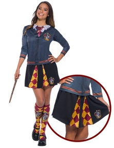 Rubies Gryffindor Teen/Adult Skirt- One Size