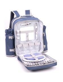 Safari 4 Person Picnic Backpack Set