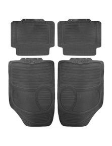FrontBack Rubber Car Mats 4pc
